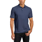 Nautica Men's Big-Tall Pique Solid Deck Polo, Atlantic Blue, 4X
