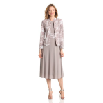 Jessica Howard Women's 2 Piece Jacket With Sleeveless Dress
